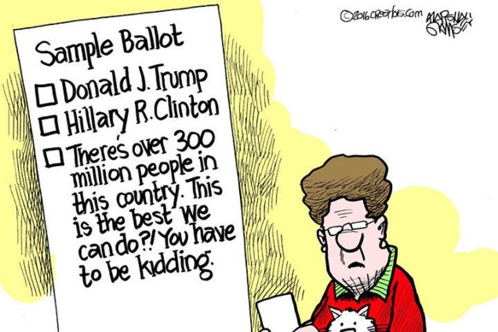 funny-trump-and-clinton